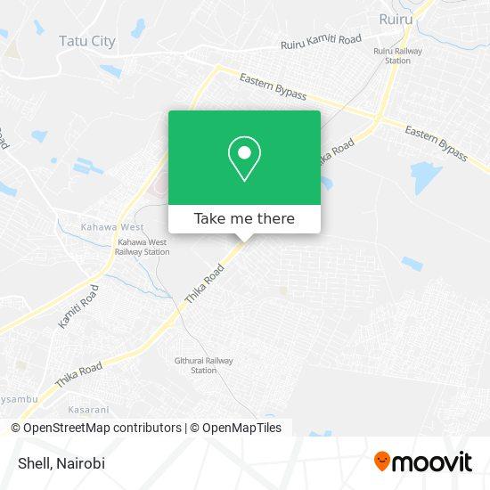 Engen Petrol Station map