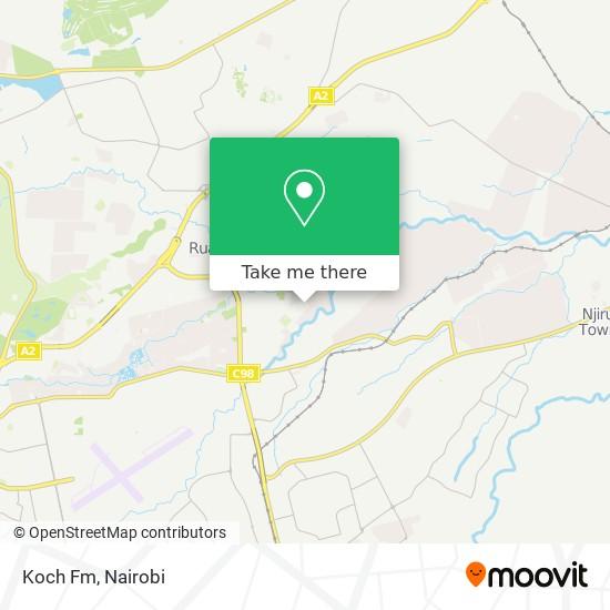 Koch Fm map