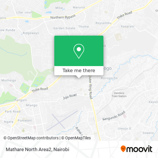 Mathare North Area2 map