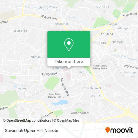 Savanah map