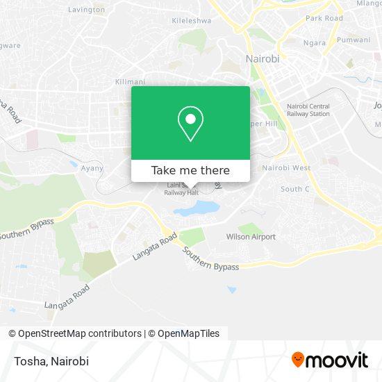 Tosha map