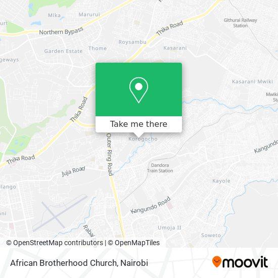African Brotherhood Church map