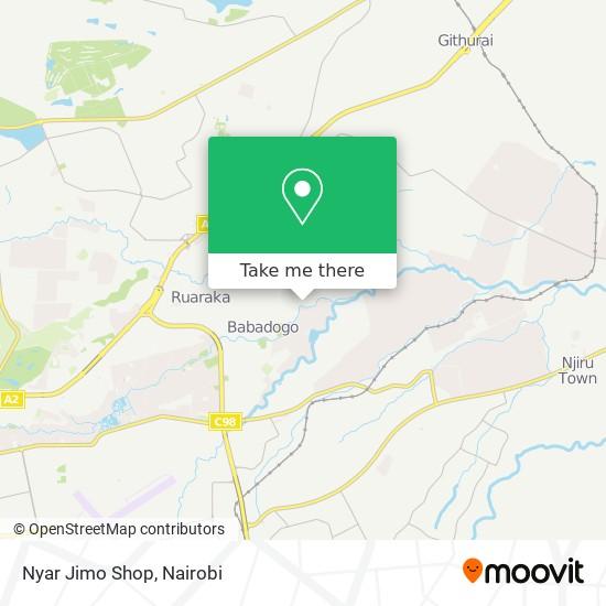 Nyar Jimo Shop map