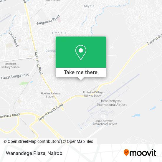 Wanandege Plaza map