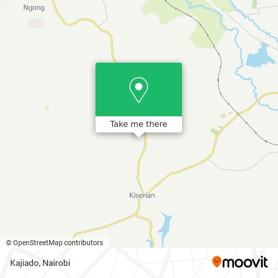 Kajiado map