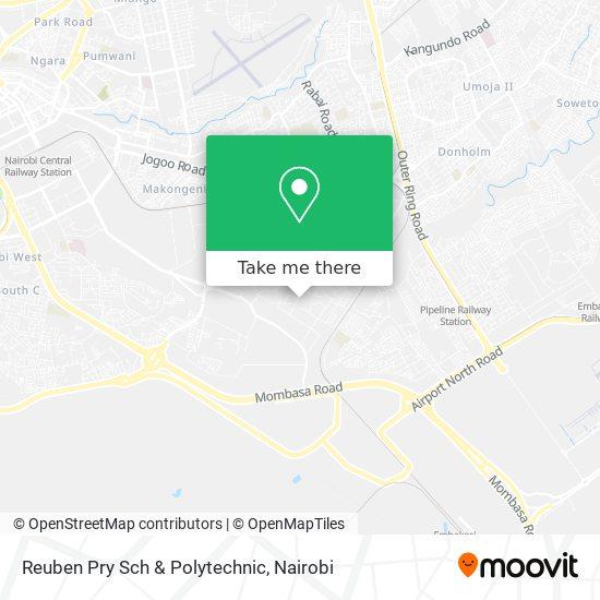 Reuben Pry Sch & Polytechnic map