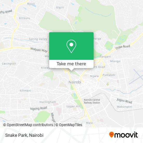 Snake Park map