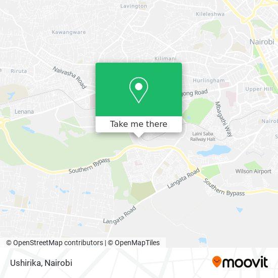 Ushirika map