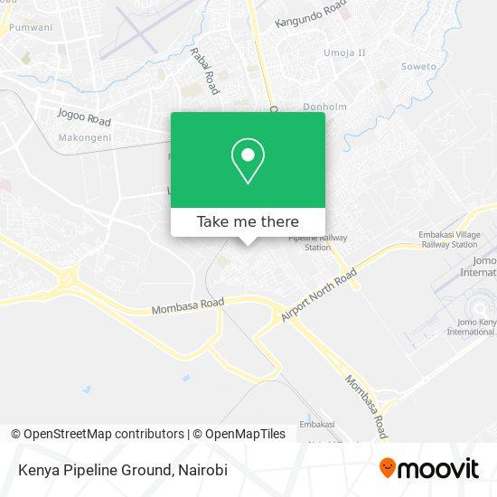 Kenya Pipeline Ground map