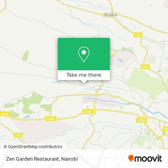 Zen Garden Restaurant map