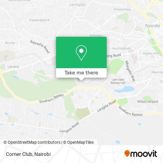 Corner Club map