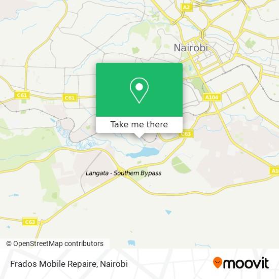 Frados Mobile Repaire map