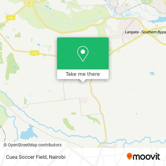 Cuea Soccer Field map