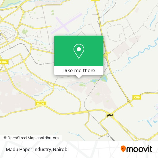 Madu Paper Industry map