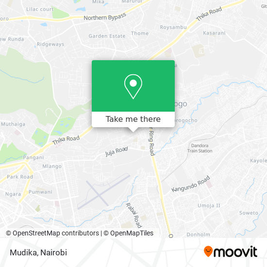 Mudika map