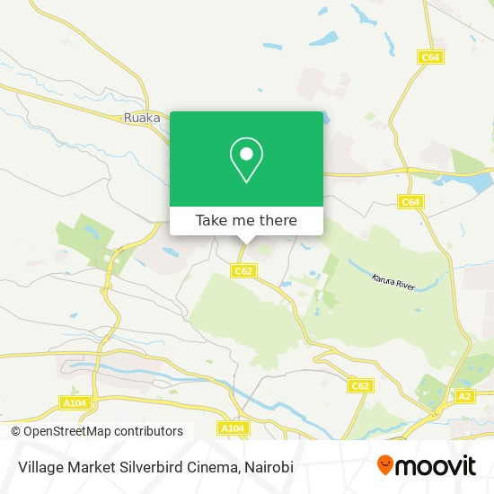 Village Market Silverbird Cinema map
