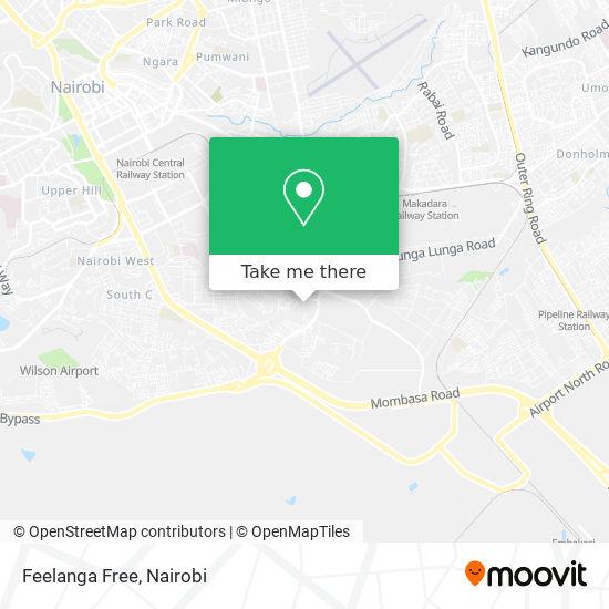Feelanga Free map
