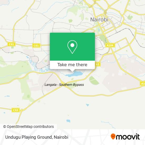 Undugu Playing Ground map