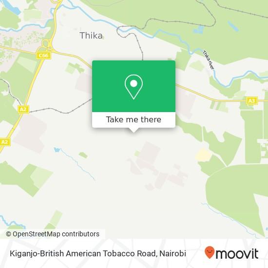 Kiganjo-British American Tobacco Road map