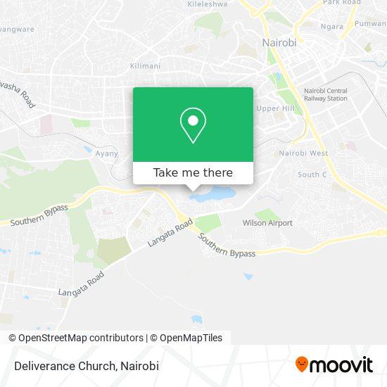 Deliverance Church map