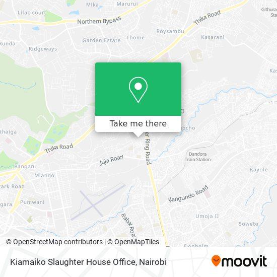 Kiamaiko Slaughter House Office map