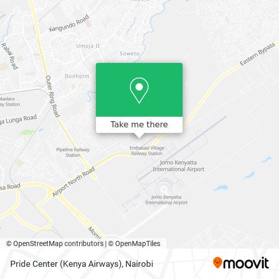 Pride Center (Kenya Airways) map