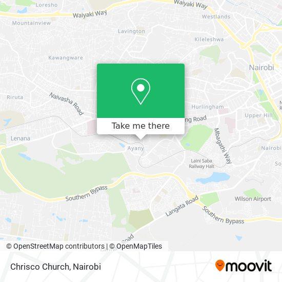 Chrisco Church map