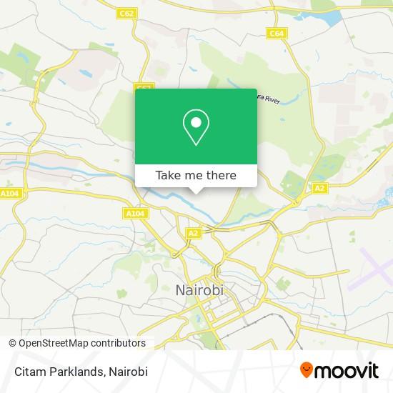 Citam Parklands map