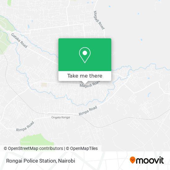 Rongai Police Station map