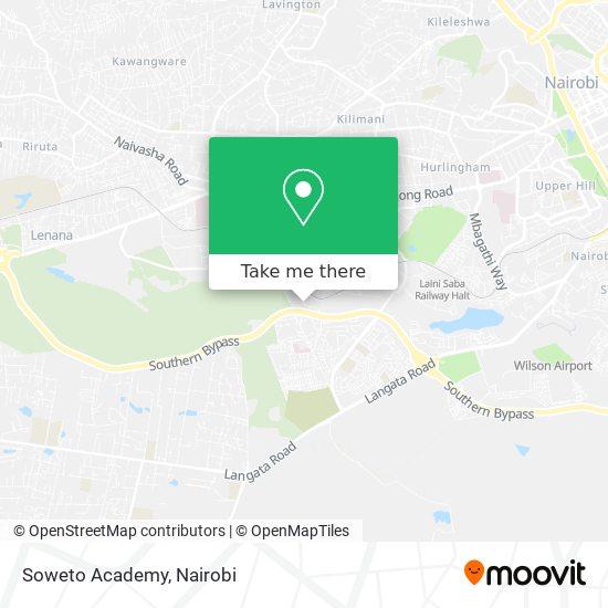 Soweto Academy map