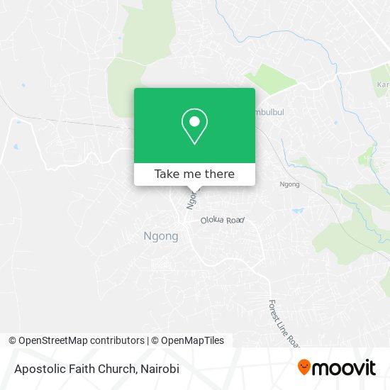 Apostolic Faith Church map
