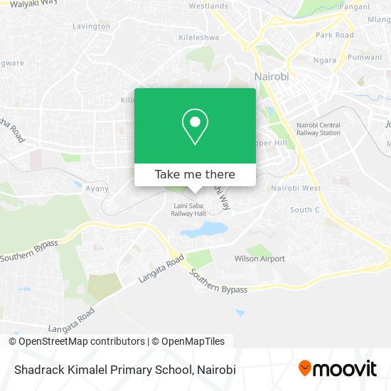 Shadrack Kimalel Primary School map