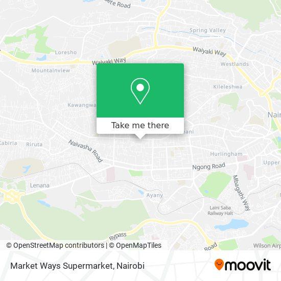 Market Ways Supermarket map