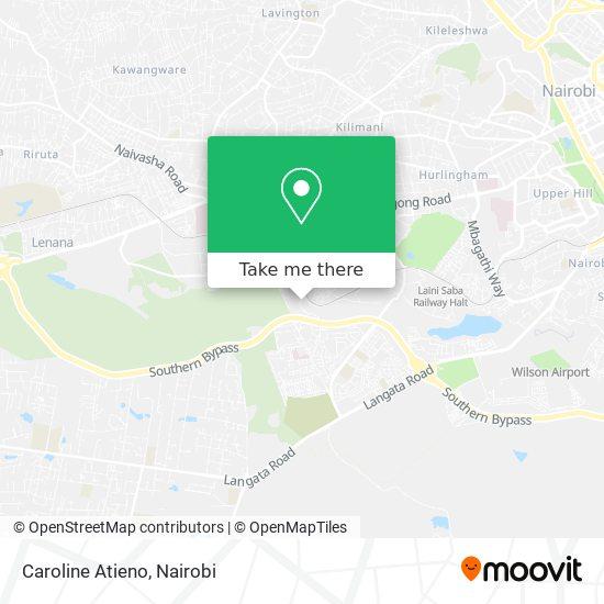 Caroline Atieno map