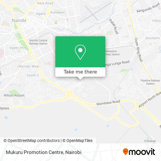 Mukuru Promotion Centre map