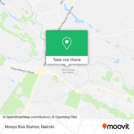 Munyu Bus Station map