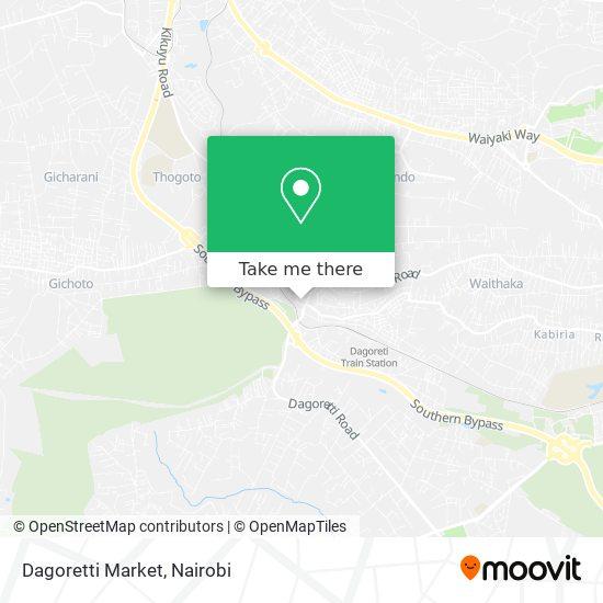 Dagoretti Market map