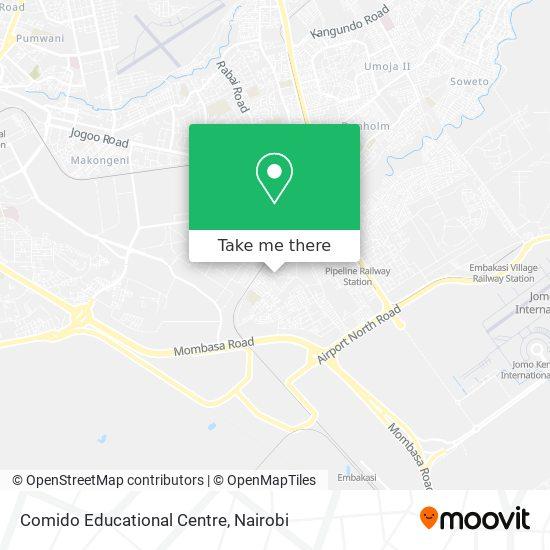 Comido Educational Centre map
