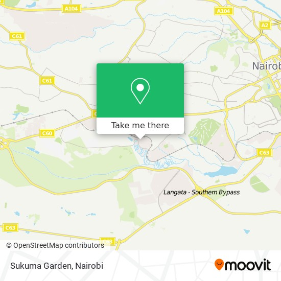 Sukuma Garden map