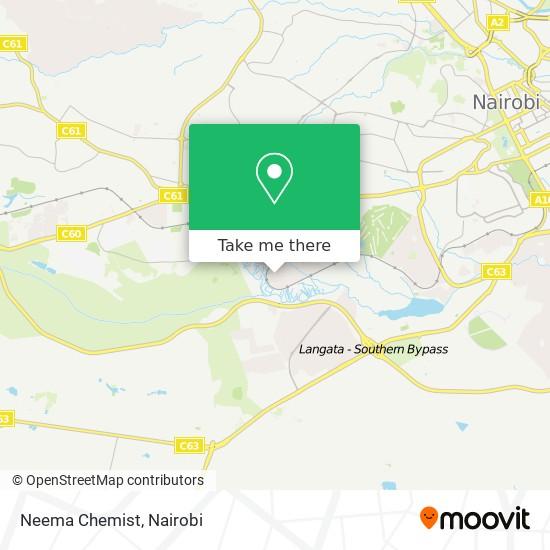 Neema Chemist map
