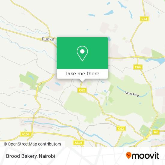 Brood Bakery map