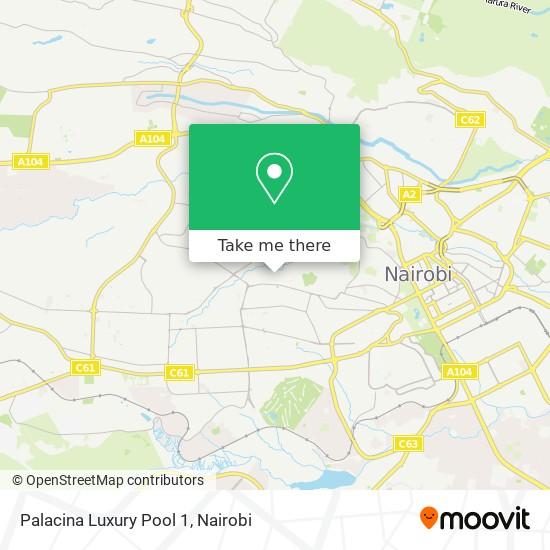 Palacina Luxury Pool 1 map
