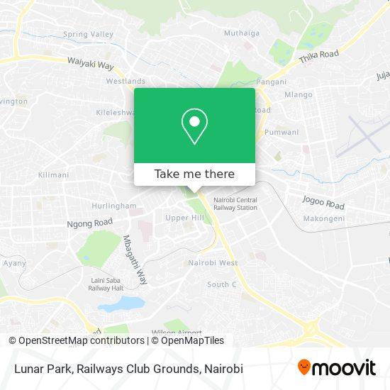 Lunar Park, Railways Club Grounds map