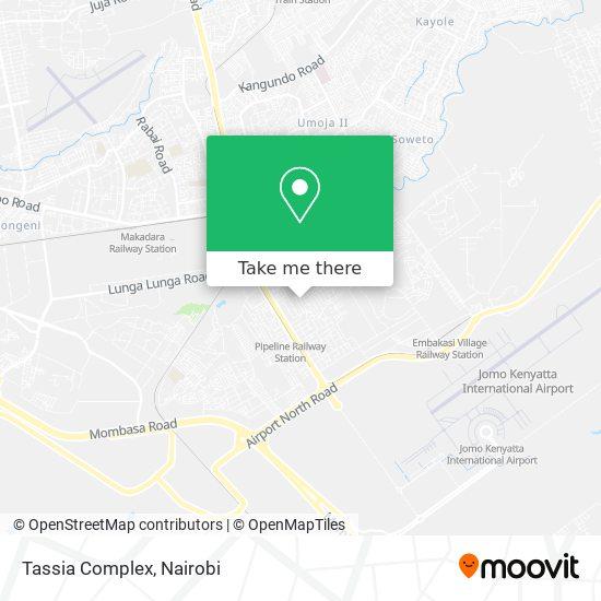 Tassia Complex map