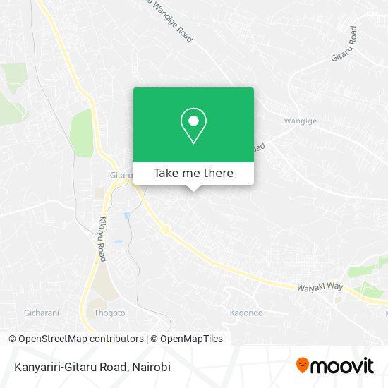 Kanyariri-Gitaru Road map