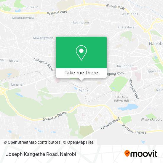 Joseph Kangethe Road map