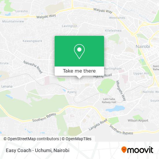 Easy Coach -Uchumi map