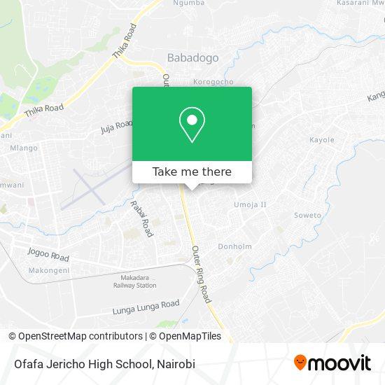 Ofafa Jericho High School map