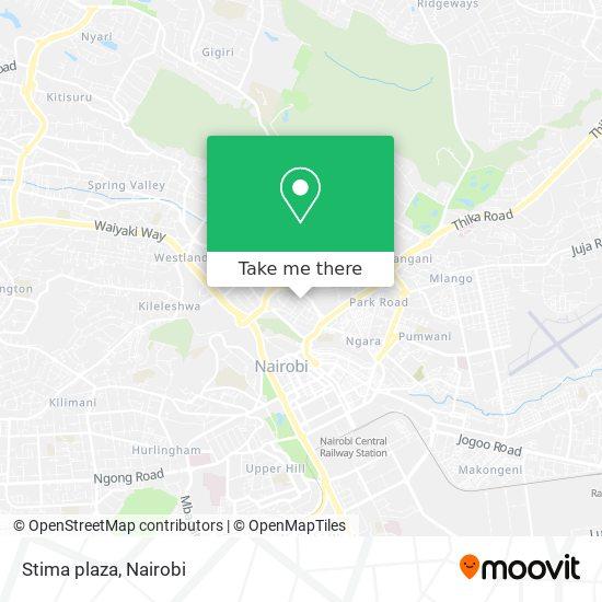 Stima plaza map