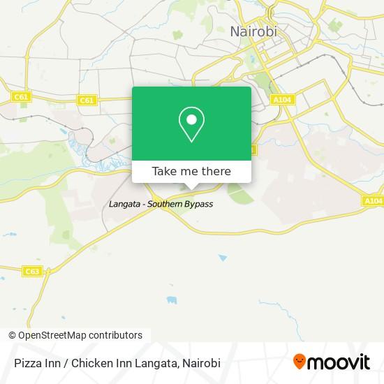 Pizza Inn / Chicken Inn Langata map